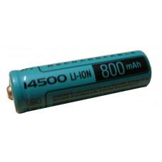 Аккумулятор  Videx 14500,800 мА/ч