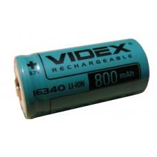 Аккумулятор  VIDEX16340 (800mAh)