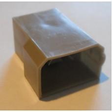 Изолятор пластиковый 4 штекера 6,3мм
