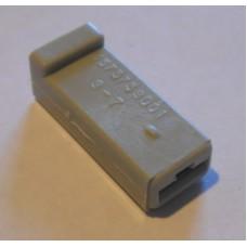 Изолятор пластиковый 1 Гн. 6,3мм