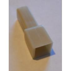 Изолятор пластиковый 1штекер 2,8мм