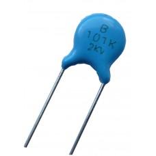 Высоковольтный конденсатор 100pf x2kV