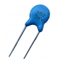 Высоковольтный конденсатор 1000pf x2kV