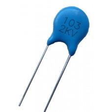 Высоковольтный конденсатор 10nf x2kV