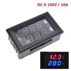 Вольт-амперметр в корпусе VA-10-100